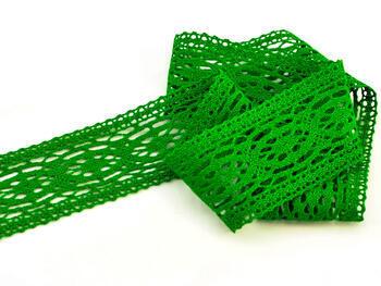 Paličkovaná vsadka vzor 75038 trávová zelená | 30 m