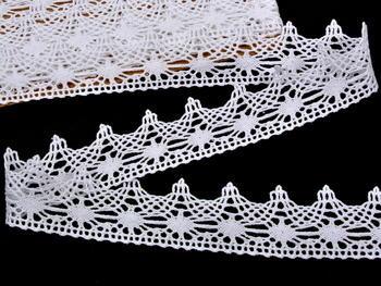 Bobbin lace No. 75041 white | 30 m - 1