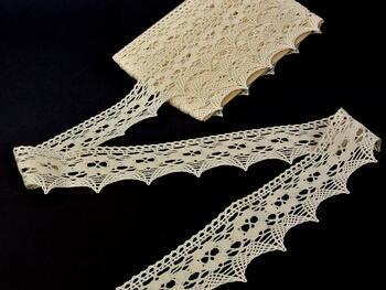 Bobbin lace No. 75050 ecru | 30 m - 1