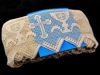 Bobbin lace No. 75053 ecru | 30 m