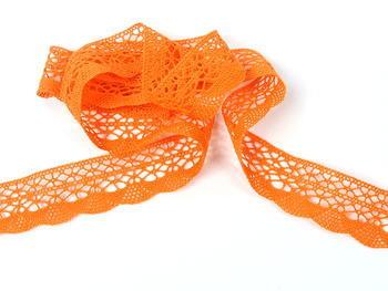 Bobbin lace No. 75077 rich orange | 30 m - 1