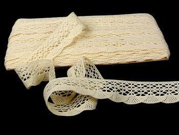Bobbin lace No.75077 ecru | 30 m - 1