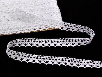 Bobbin lace No. 75087 white | 30 m - 1