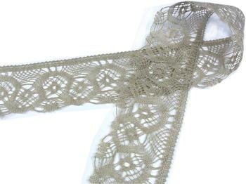 Bobbin lace No. 75096 natural linen | 30 m - 1