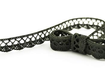 Bobbin lace No.75428/75099 dark olive | 30 m