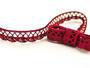 Bobbin lace No. 75428/75099 red bilberry | 30 m - 1/2