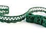Bobbin lace No.75428/75099 dark green | 30 m - 1/2
