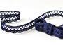 Bobbin lace No. 75428/75099 dark blue | 30 m - 1/2