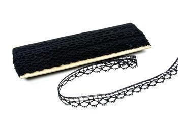 Bobbin lace No. 75100 black | 30 m - 1