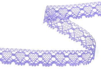 Paličkovaná krajka vzor 75133 purpurová II. | 30 m - 1