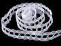 Bobbin lace No. 75170 white | 30 m - 1/4
