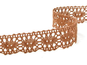 Bobbin lace No. 75187 brown | 30 m - 1