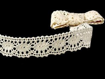 Bobbin lace No. 75187 ecru | 30 m - 1