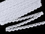 Bobbin lace No. 75007 white | 30 m - 1/4