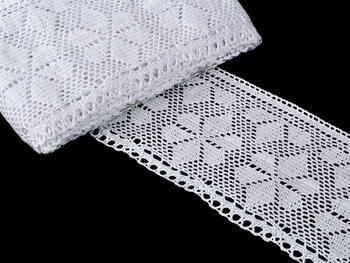 Bobbin lace No. 75208 white  | 30 m - 1