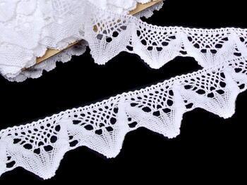 Bobbin lace No. 75221 white | 30 m - 1
