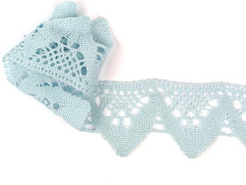 Bobbin lace No. 75221 pale blue | 30 m - 1