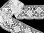 Bobbin lace No. 75224 white | 30 m - 1/6