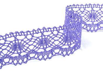 Paličkovaná krajka vzor 75238 purpurová II. | 30 m - 1