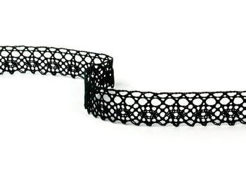 Bobbin lace No. 75239 black | 30 m - 1