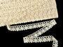 Bobbin lace No. 75244 ecru | 30 m - 1/5