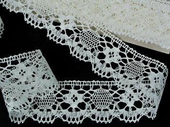 Bobbin lace No. 75253 bleched linen | 30 m - 1