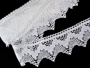 Bobbin lace No. 75256 white | 30 m - 1