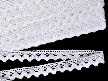 Bobbin lace No. 75259 white | 30 m - 1