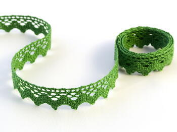 Bobibn lace No. 75259 grass green | 30 m