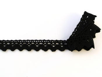 Bobibn lace No. 75260 black | 30 m - 1
