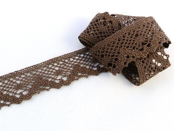 Bobbin lace No. 75261 liight brown | 30 m