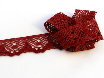 Bobbin lace No. 75261 red bilberry | 30 m - 1