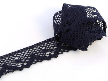 Bobbin lace No. 75261 blueblack | 30 m - 1