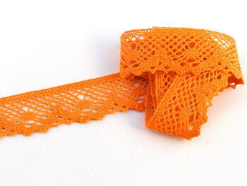 Bobbin lace No.75261 rich orange | 30 m - 1