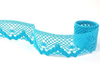 Bobbin lace No. 75261 turquoise | 30 m - 1