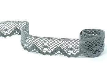 Bobbin lace No. 75261 grey III.| 30 m - 1