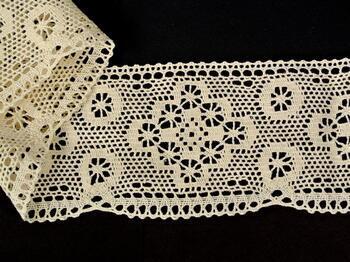 Bobbin lace No. 75277 ecru | 30 m - 1
