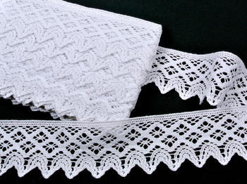 Bobbin lace No. 75293 white | 30 m - 1