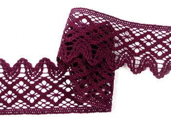 Bobbin lace No. 75293 violet | 30 m - 1