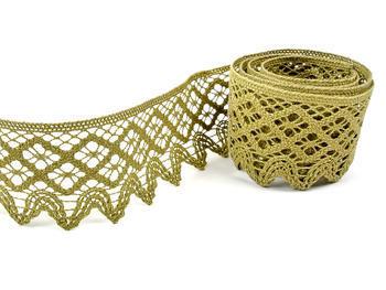 Bobbin lace No. 75293 green | 30 m - 1