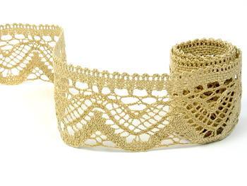 Bobbin lace No. 75301 toffee | 30 m - 1