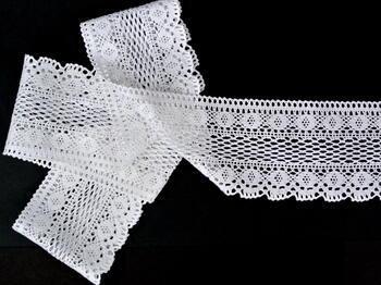 Bobbin lace No.75349 white | 30 m - 1