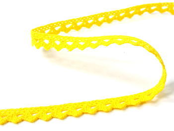 Bobbin lace No. 75361 yellow | 30 m - 1
