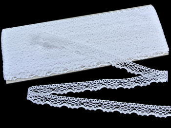 Bobbin lace No. 75413 white | 30 m - 1