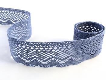 Bobbin lace No. 75414 sky blue | 30 m - 1