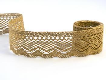 Bobbin lace No. 75414 chocolate | 30 m - 1