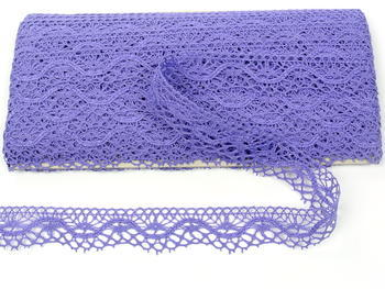 Bobbin lace No. 75416 purple II. | 30 m - 1