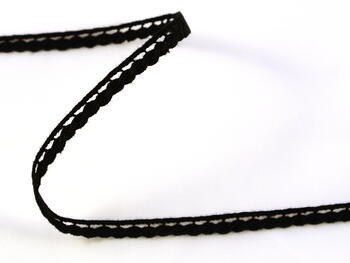Bobbin lace No. 75464 black | 30 m