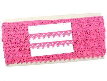 Bobbin lace No. 75535 fuchsia | 30 m - 1