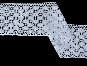 Bobbin lace No. 75542 white| 30 m - 1